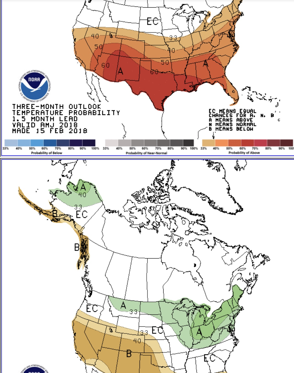 Long range outlook A,M,June